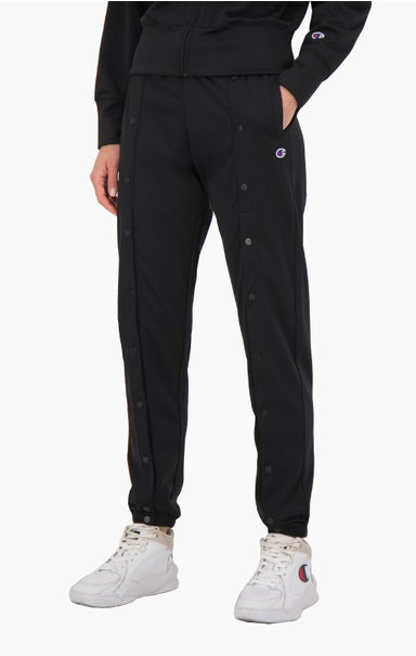 Popper Front Track Pants