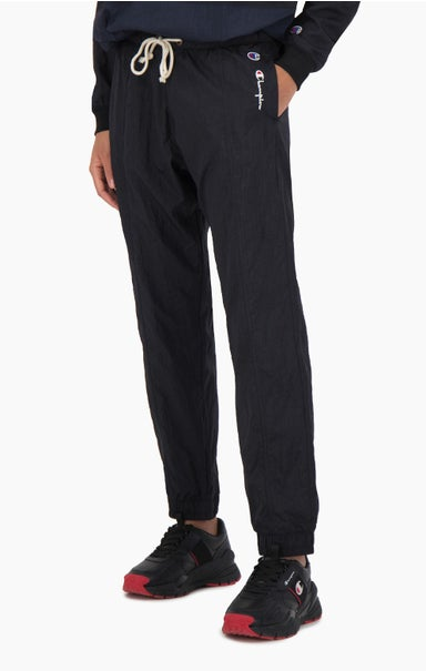 Panel Detail Cuffed Track Pants