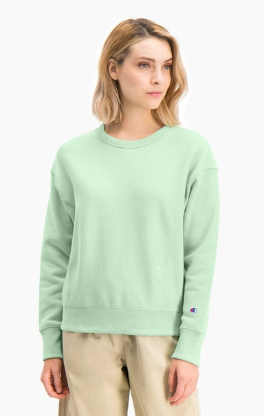 Lightweight Reverse Weave Oversized Sweatshirt
