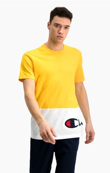 Colour Block Wraparound Logo T-Shirt