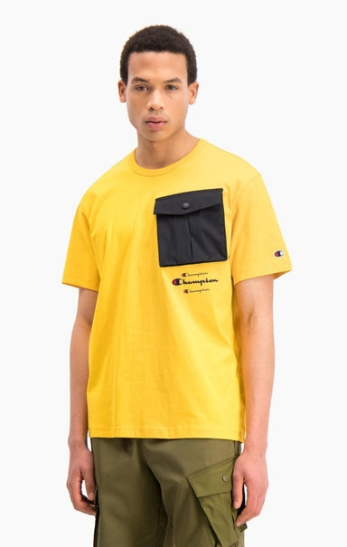 Triple Script Logo Cargo Pocket T-Shirt