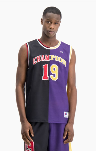 NBMIX Patchwork 'Champion 19' Basketball Mesh Vest