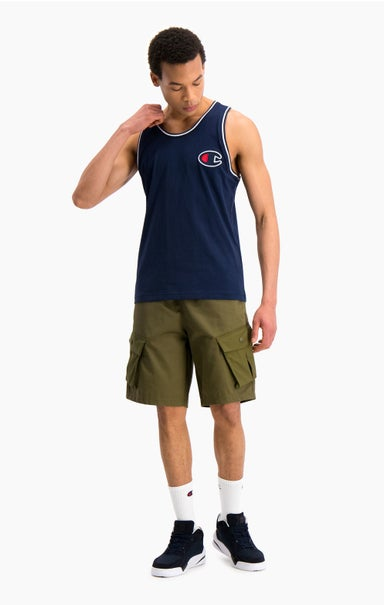 Satin C Logo Tank Top