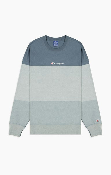 Ombré Panelled Cotton Jersey Sweatshirt