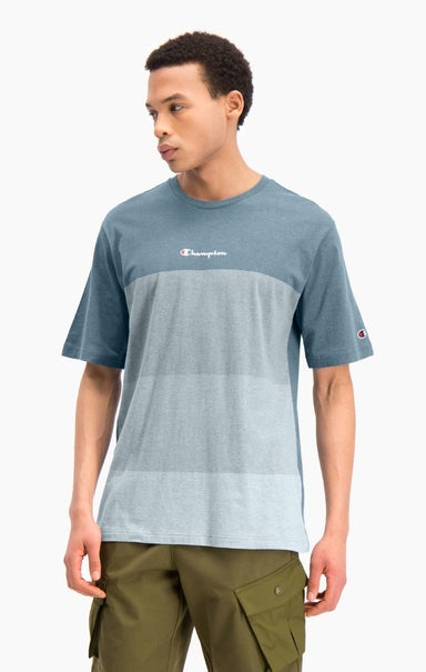 Ombré Panelled T-Shirt