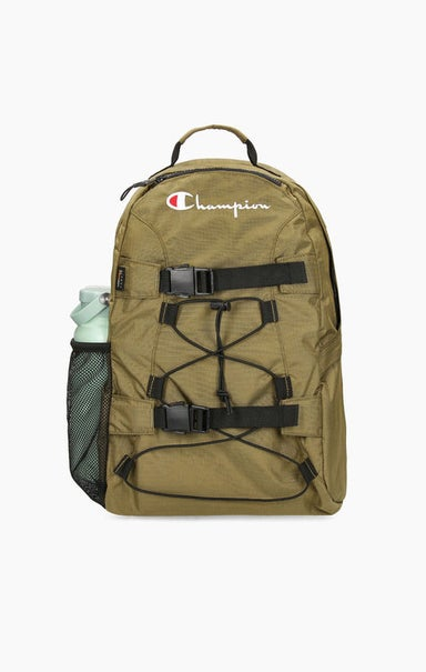 Lace-Up Buckle Front Backpack