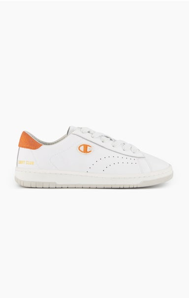 Club Court Colour Back Tab Trainers